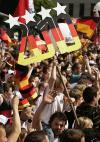 德国球迷庆祝第三名