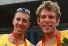 男子双人双桨澳大利亚队再获一金