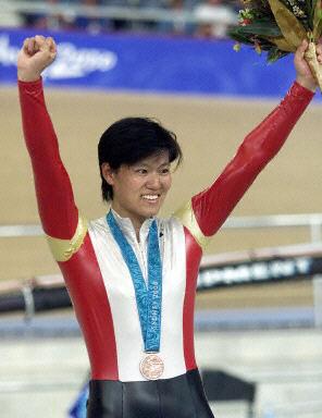 奥运历史巨星之姜翠华--中国自行车的骄傲