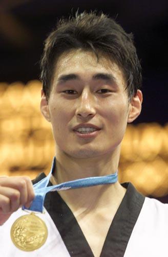 奥运历史巨星之金景勋--第一个跆拳道重量级冠军