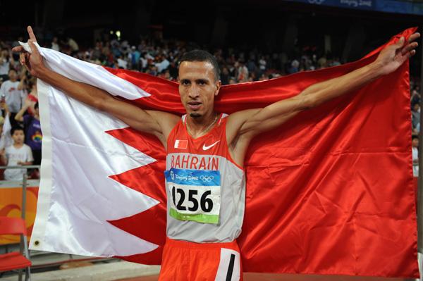 البحريني رمزي يحرز ذهبية سباق 1500 م