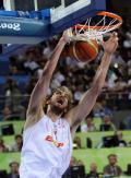 图文-美国男篮118-107西班牙 加索尔21分6个篮板