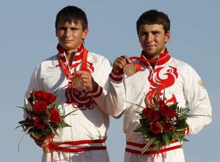 图文-皮划艇激流回旋精彩回顾 俄罗斯组合获得铜牌