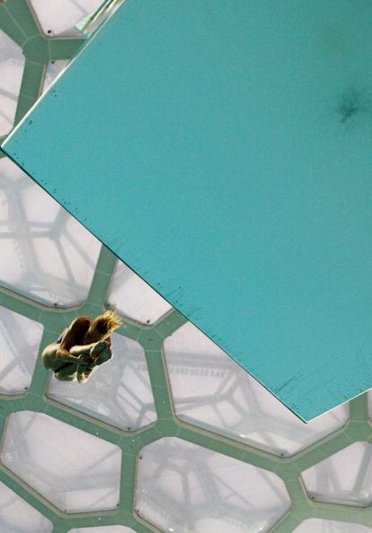 图文-男子单人三米跳板决赛 水立方成跳水焦点