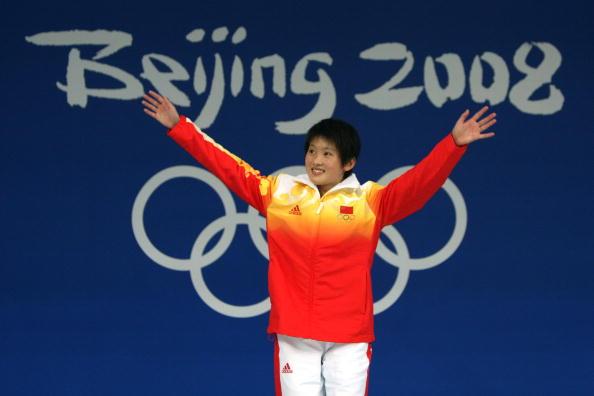图文-奥运女子10米跳台决赛 陈若琳拿到金牌