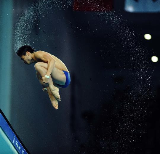 图文-男子10米跳台决赛赛况 美轮美奂的跳水瞬间