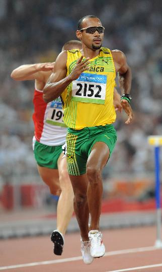 图文-奥运男子110米栏19日赛况 威格诺尔晋级
