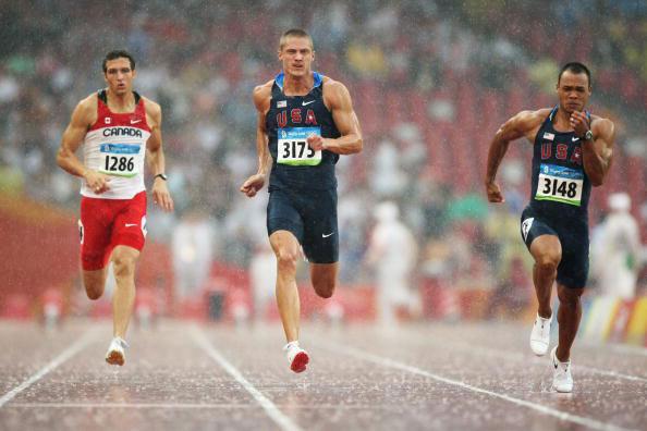 图文-田径男子十项全能赛况 美国哈迪轻松便领先