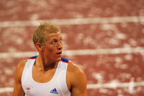 图文-田径男子十项全能赛况 英国奥德回望成绩