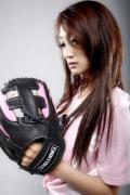 图文-奥运棒球性感宝贝之明骏女孩 美丽的娇羞面容