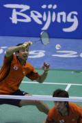 图文-奥运会羽毛球赛12日精选 男双日本迎战印尼