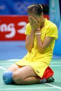 图文-奥运羽球女单张宁成功卫冕 张宁这样感动中国