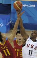 图文-[男篮小组赛]中国77-101美国