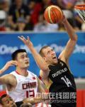 图文-[奥运会]中国男篮59-55德国 诺维茨基发威