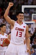 图文-[奥运]中国男篮59-55德国 姚明引领最后胜利