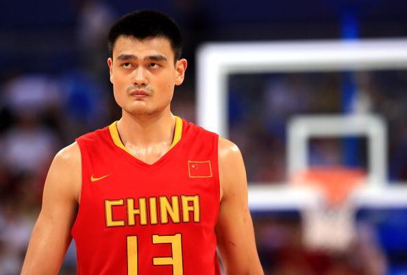 图文-[奥运]中国男篮77-91希腊 姚明期待突破历史