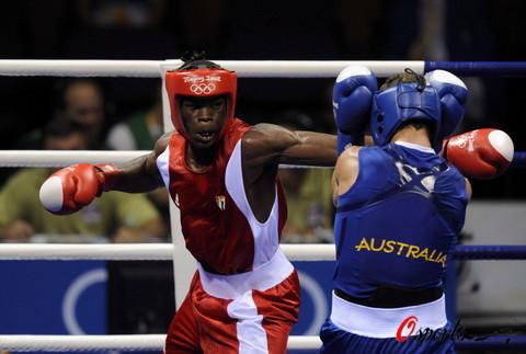 奥运拳击比赛开赛
