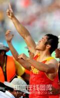 图文-孟关良/杨文军500米划艇卫冕 剑指冠军