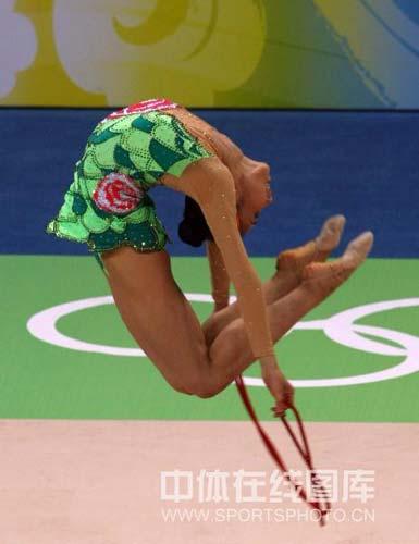 图文-艺体个人首轮李红扬位列第12 完美的舞蹈