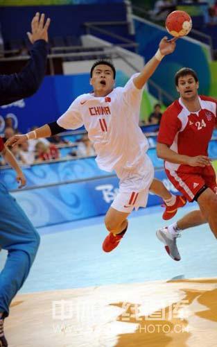图文-[男手]中国22-33负克罗地亚 激动的一刻