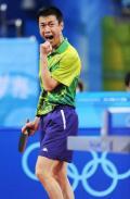 乒乓球男子团体赛赛况