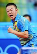 图文-乒乓球男单第三轮马琳晋级