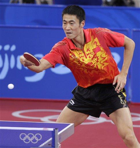 乒乓球男单半决赛