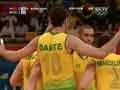 巴西重扣结束比赛