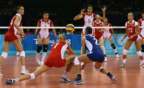 [奥运会]中国女排3-1波兰
