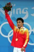 图文-举重男子69公斤级比赛 廖辉奥运拿下金牌