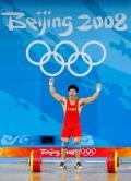 图文-男子举重85公斤级决赛 陆永夺冠奥运摘金