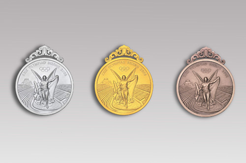 Design of the Medal for the Beijing 2008 Olympic Games