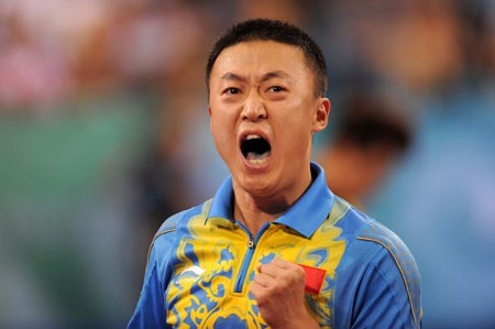 Ma Lin wins Olympic men's table tennis singles gold