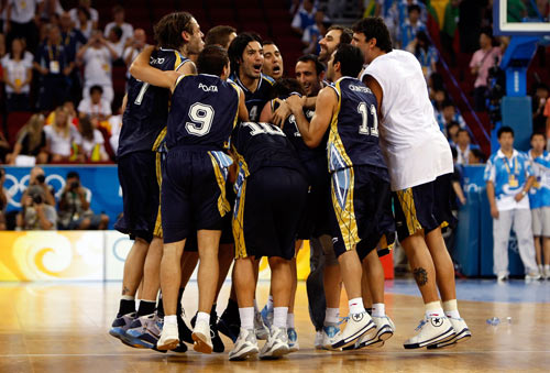 Hot shooting gives Argentina the bronze