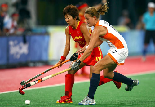 Photo: Netherlands claims the gold in Olympic Women's Hockey