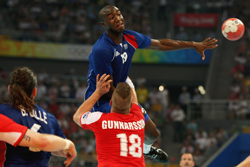 Photo: France wins Olympic Men's Handball gold
