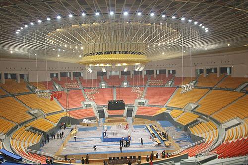 Los gimnasios,Estadio y gimnasio de los Obreros