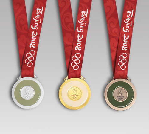 Médailles des XXIXes Jeux Olympiques