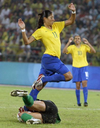 图文-奥运女足精彩瞬间瞬间 失去最后一次机会