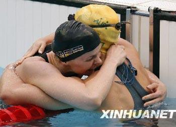 Britta Steffen gewinnt erste Schwimm-Goldmedaille für Deutschland seit 16 Jahren