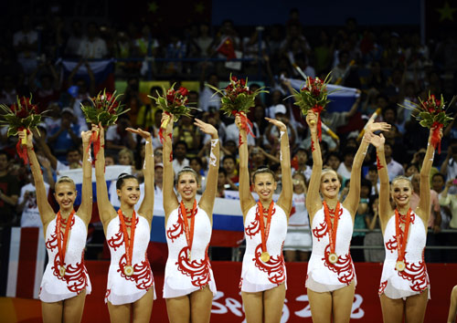 China holte sich Silber bei der Rhythmische Sportgymnastik