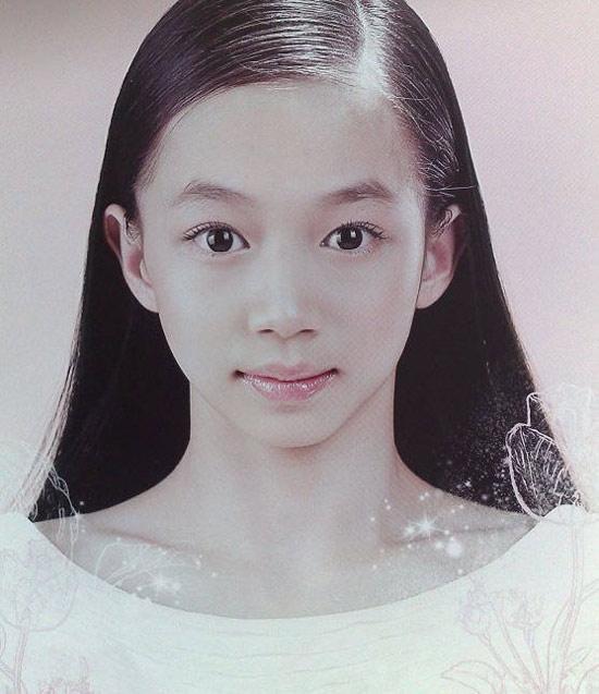 图文-女团冠军杨伊琳  少女照片惊艳