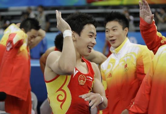 图文-奥运竞技体操项目精彩回顾 快乐邹凯