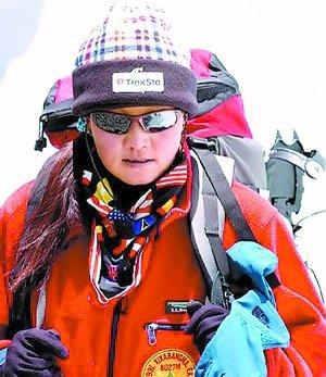 奥运圣火登珠峰候选人:当代十大徐霞客 女英雄吉吉