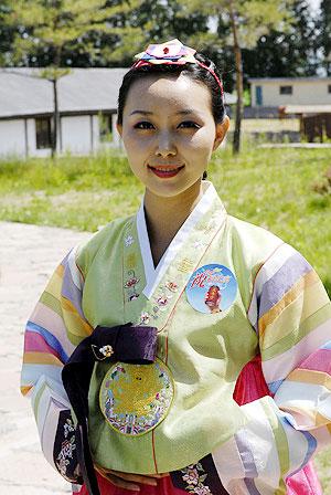 图文-祝福北京朝鲜族使者评选 朝鲜族姑娘迷人
