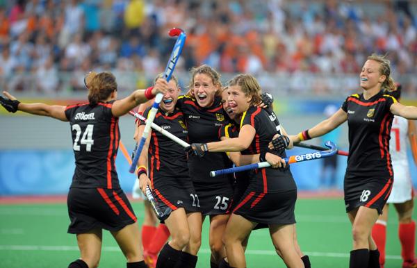 图文-[奥运]中国女曲3-2德国 德国队开局领先