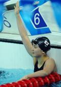 10日女子游泳预赛赛况