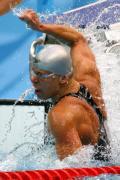 图文-奥运会男子50米自由泳决赛 一记重拳宣泄