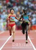 图文-京奥女子马拉松决赛 沉重的步伐