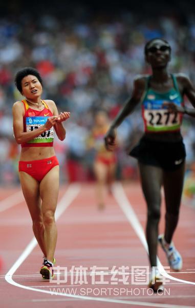 图文-京奥女子马拉松决赛 失望而回